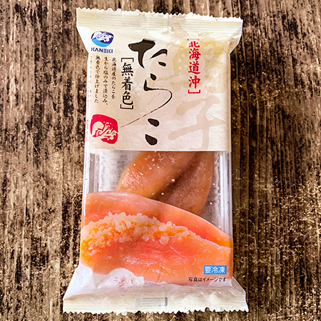 無着色たらこ 【SONOKO】【冷凍】のパッケージ画像