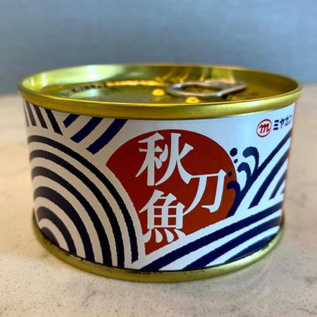 さんま醤油煮 柚子皮入り 【ミヤカン】【缶】のパッケージ画像