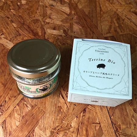 オリーブとハーブ風味のテリーヌ【BIO PROJECT】のパッケージ画像