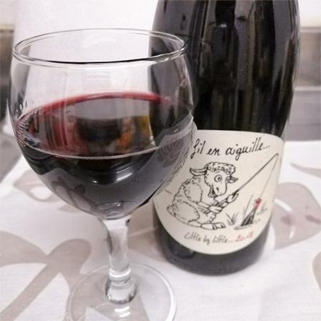 オーガニックワイン 酸化防止剤 保存料無添加 赤ワイン 【ド・フィル・アン・エギュイユ】の中身画像