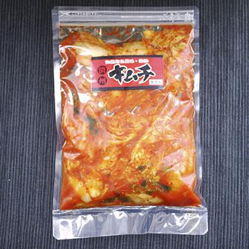 白菜キムチ 無添加きむち 【長田済州キムチ】のパッケージ画像