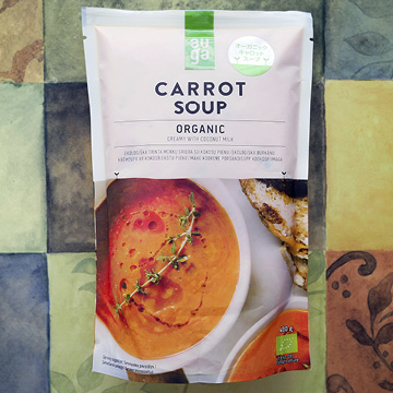 オーガニックキャロットスープ 【AUGA】のパッケージ画像