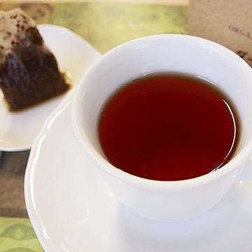 有機ダージリン紅茶 ティーバッグ 【ひしわ】の中身画像
