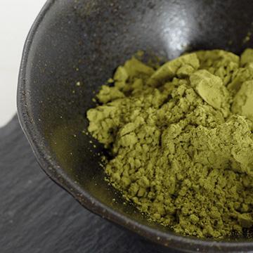 有機べにふうき 粉末緑茶 【駒井園】の中身画像