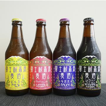 クラフトビール 飲み比べ4本セット 【富士桜高原麦酒】のパッケージ画像