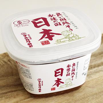 有機みそ 日本 【マルカワみそ】のパッケージ画像