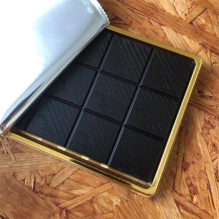 エクセレンス・99%カカオ 板チョコレート 【リンツ】の中身画像