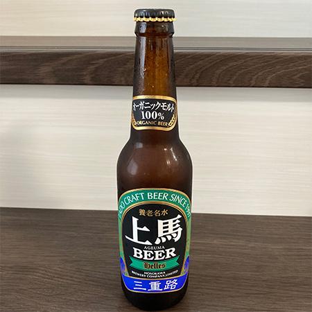 ヘレス 無ろ過 生酵母入 【上馬ビール】のパッケージ画像