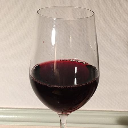 無添加信州コンコード 赤ワイン ミディアムボディ 【アルプス】の中身画像