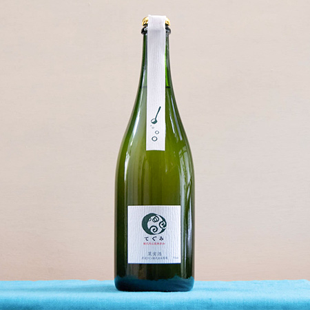 酸化防止剤 無添加 スパークリング てぐみデラウェア 辛口 【丹波ワイン】のパッケージ画像