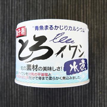 とろイワシ水煮 【ムソー】【缶】のパッケージ画像