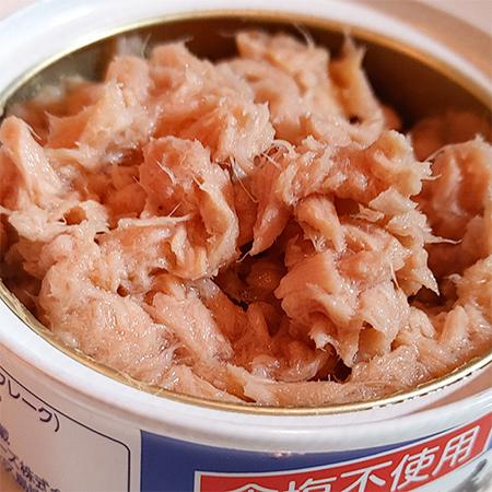天然水でつくったシーチキン純 【はごろもフーズ】【缶】の中身画像
