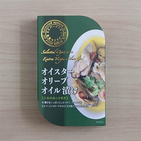 オイスターオリーブオイル漬け 【ムソー】【缶】のパッケージ画像