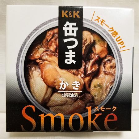 缶つまスモーク かき 【K&K】【缶】のパッケージ画像