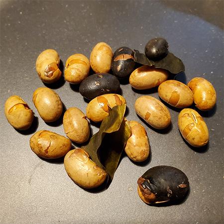 純国産 北海道2色の煎り大豆 【ノースカラーズ】の中身画像