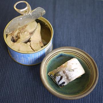 鯖水煮 【きぼうの缶詰】【缶】の中身画像