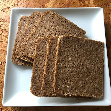 有機全粒ライ麦パン フォルコンブロート 【ペーマ】の中身画像