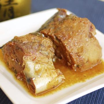 美味しい鯖味噌煮 【伊藤食品】【缶】の中身画像