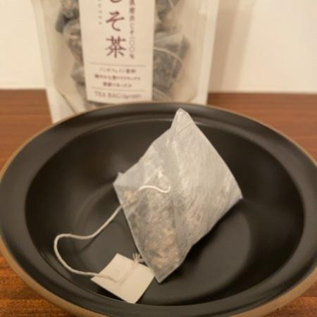 島根県産赤じそ100% しそ茶ティーバッグ 【三幸園】の中身画像
