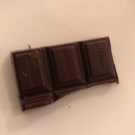 有機アガベチョコレート ダーク カカオ 85% 【ダーデン】の中身画像