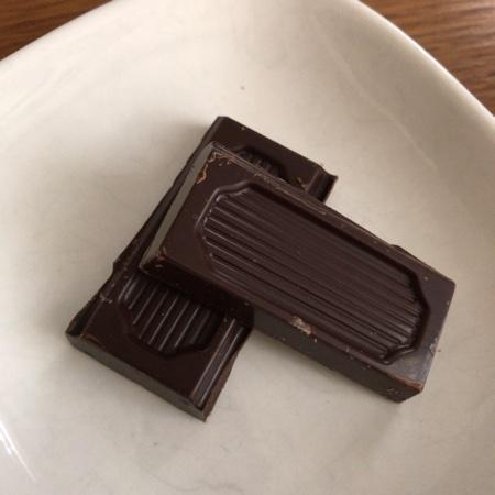 フェアトレードチョコレート オーガニック・ビター 【ピープルツリー】の中身画像