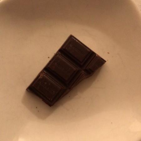 有機アガベチョコレート ダーク カカオ 70% 【ダーデン】の中身画像