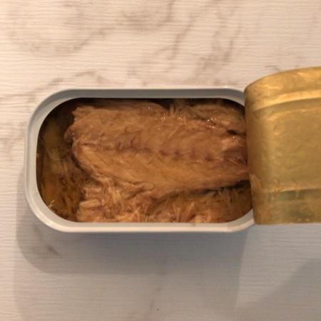 さばオリーブオイル漬け レモン味 【ラ・カンティーヌ】【缶】の中身画像