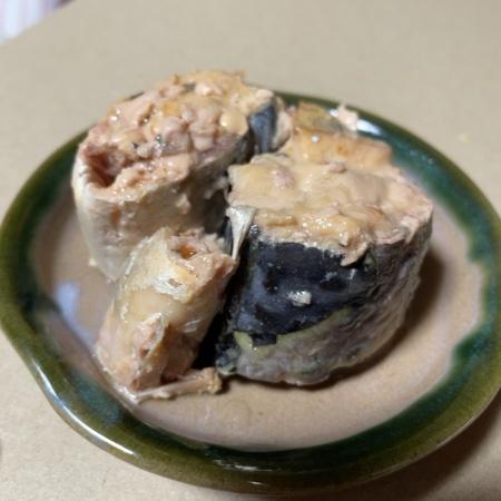 美味しい鯖 水煮 【伊藤食品】【缶】の中身画像