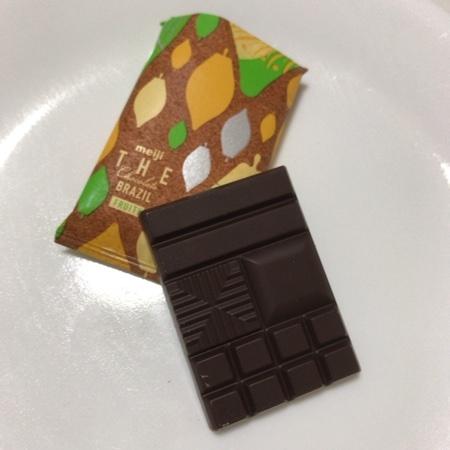ザ・チョコレート ブラジル カカオ70 【明治】の中身画像