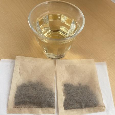 伝承の健康茶 国産はと麦茶 ティーバッグ 30袋【伊藤園】の中身画像