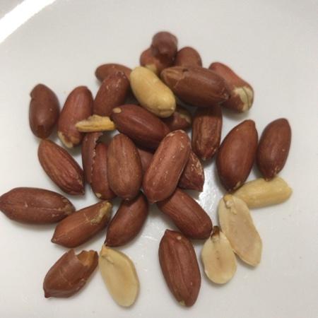 うす皮付き 素煎りピーナッツ 【ミツヤ】の中身画像