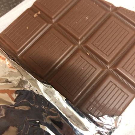 有機ミルクチョコレート 36% 【アルチェネロ】の中身画像