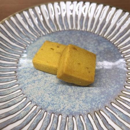 野菜のマクロビオティッククッキー かぼちゃ 【ビオクラ】の中身画像