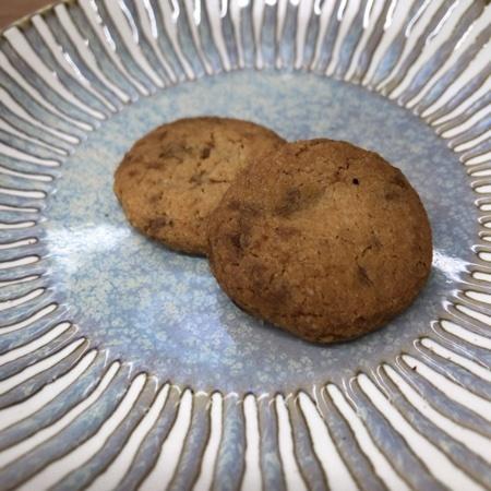 国産米粉クッキー 黒糖くるみ 【南出製粉所】の中身画像
