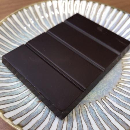 オーガニック チョコレート ハイカカオ 77% 【ローシク】の中身画像