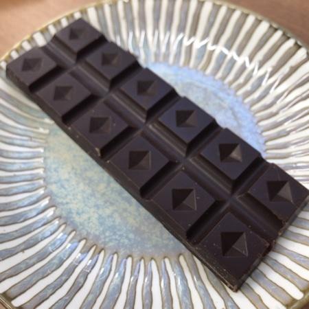 オーガニック ダークチョコレート 100% 【チョコレートソール】の中身画像