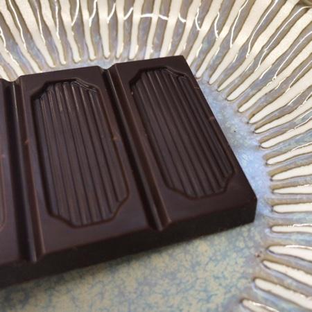 フェアトレード・板チョコレート ビター ザクロ 【ピープルツリー】の中身画像