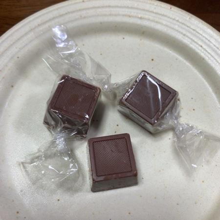 ナチュラルチョコレート ミルク 【ムソー】の中身画像