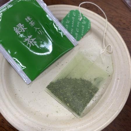 セブンプレミアム 宇治抹茶入り 緑茶 ティーバッグ 【セブンイレブン】の中身画像