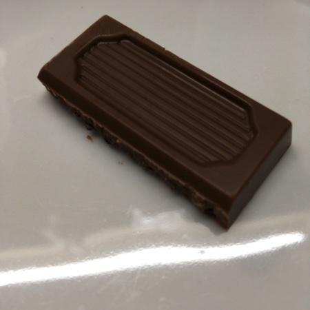 フェアトレード・板チョコレート コーヒーニブ【ピープルツリー】の中身画像