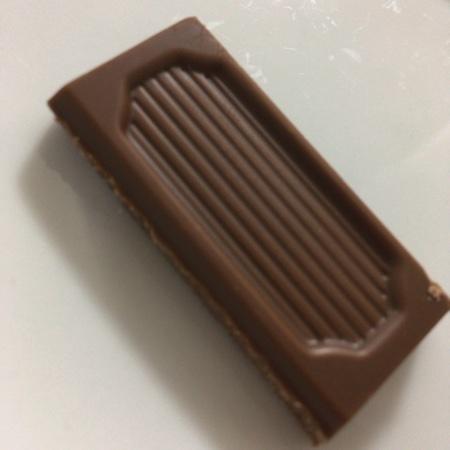 フェアトレード・板チョコレート ミルク 【ピープルツリー】の中身画像