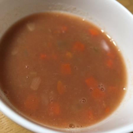 穀物とトマトのミネストローネ【プレマシャンティ】の中身画像