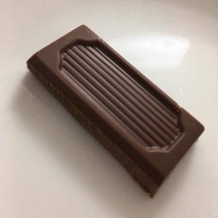 フェアトレード・板チョコレート オーガニック ココナッツミルク 【ピープルツリー】の中身画像