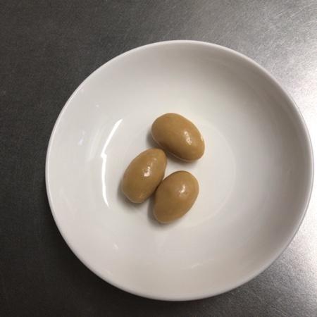 アーモンドキャラメルチョコレート 【ナチュラルローソン】の中身画像