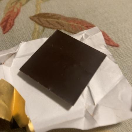 カレ・ド・ショコラ カカオ 70 板チョコレート 【森永】の中身画像
