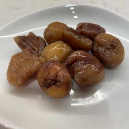 しっとりおいしいイタリアの栗 【正栄食品】の中身画像