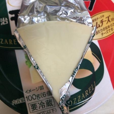 モッツァレラ 6Pチーズ 【明治】の中身画像