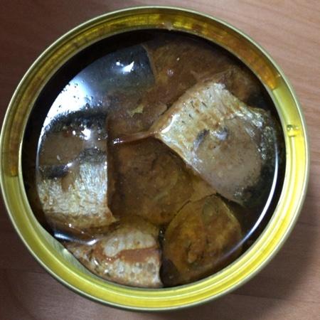 旬 鰯醤油煮 【SSK】【缶】の中身画像