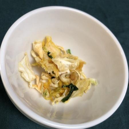 乾燥野菜 国産白菜のスープミックス 【無印良品】の中身画像