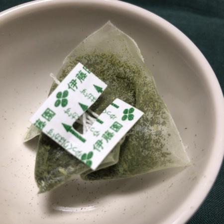 おーいお茶 プレミアムティーバッグ 宇治抹茶入り緑茶 【伊藤園】の中身画像